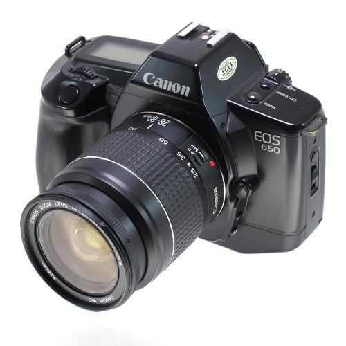 USED CANON EOS 650 W/28-80