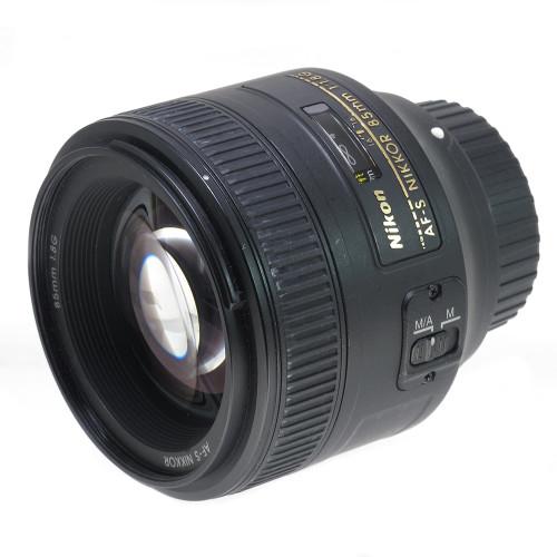 USED NIKON AF-S 85MM F1.8G (739422)