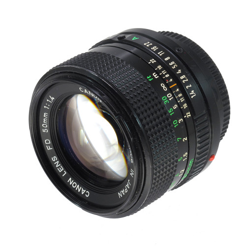 USED CANON FD 50MM F1.4
