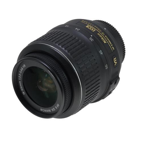 USED NIKON AF-S 18-55MM F3.5-5.6G VR (DX)(739534)