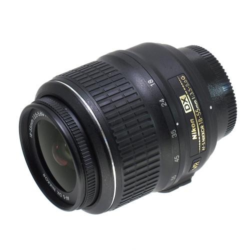 USED NIKON AF-S 18-55MM F3.5-5.6G VR (739609)