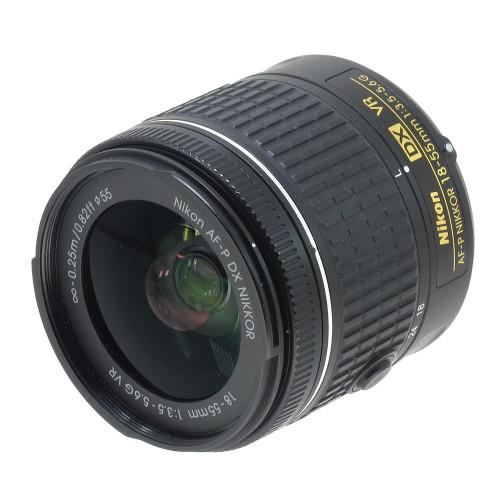 USED NIKON AF-P 18-55MM F3.5-5.6G VR (DX) (739844)