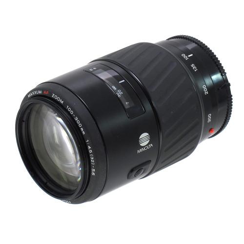 USED MINOLTA AF 100-300MM F4.5-5.6