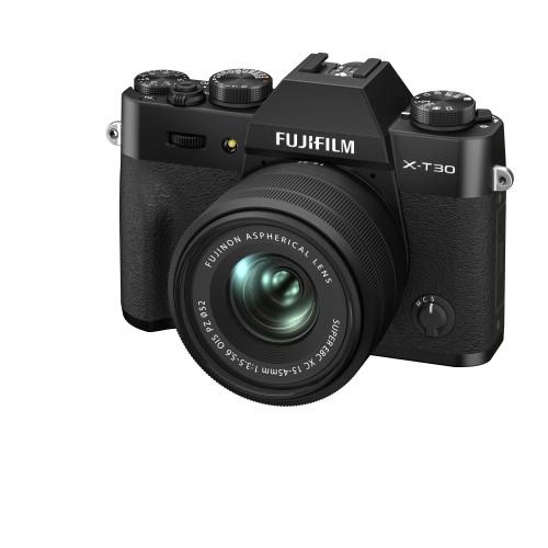 FUJI X-T30 II W/XF 18-55MM KIT BLACK(PRE-ORDER DEPOSIT ONLY)