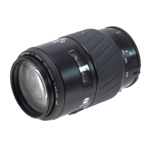 USED MINOLTA MAXXUM AF 100-300MM