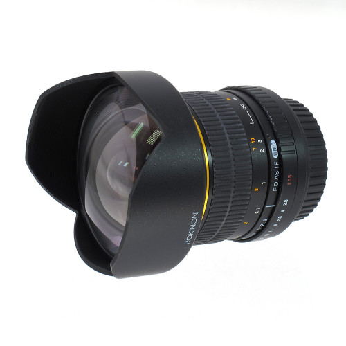 USED ROKINON 14MM F2.8 FOR EOS