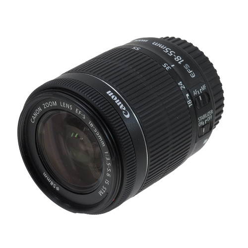 USED CANON EF-S 18-55MM F3.5-5.6 IS STM (741102)