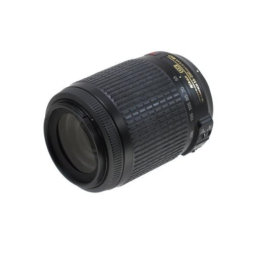 USED NIKON AF-S 55-200MM F/4-5.6G ED VR (DX)(741107)