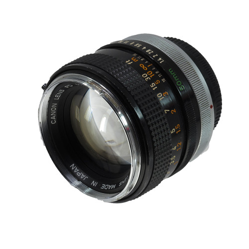 USED CANON FD 50MM F1.4 (741148)
