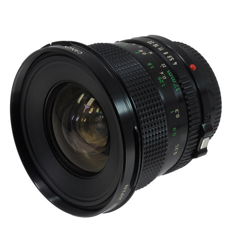 USED CANON FD 17MM F4