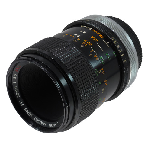 USED CANON FD 50MM F3.5 S.S.C.