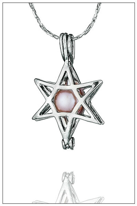 HEXAGRAM Pearl Cages - ©PearlsIsland.com
