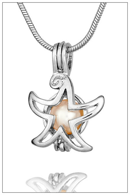 STARFISH Cage for Pearls - ©PearlsIsland.com
