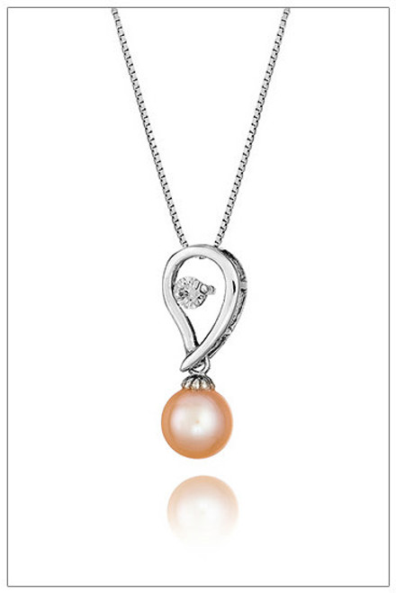 Pearl Pendant  925 Sterling Silver