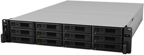 Synology SA3600 12-BAY Enterprise RackStation with 128GB RAM and 96TB (12 x 8TB) Synology HAT5300 Enterprise SATA Drives Fully Assembled and Tested