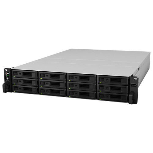 RS3617xs+ Synology 12-BAY Enterprise RackStation Fully Assembled and Tested with 8GB DDR4 Synology RAM, 6 x 10TB Western Digital RED NAS Drives & RKS1317 Rail Kit