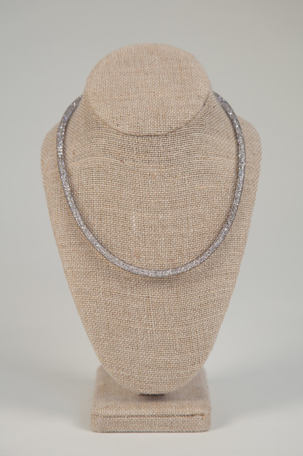 Galaxy Stacking Necklace - Charcoal