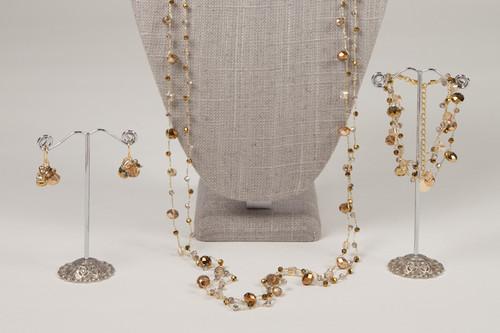 Gold Disco Earrings