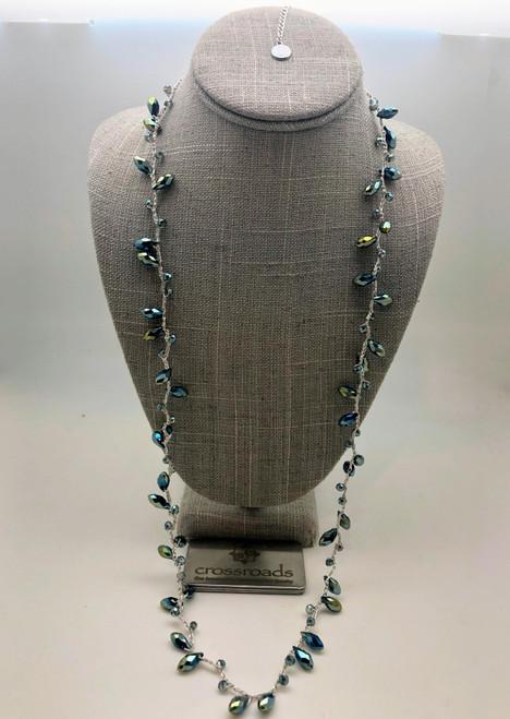 Teardrop Beads Sapphire