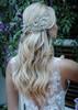 Handmade headband detailed with Swarovski crystal rocks.