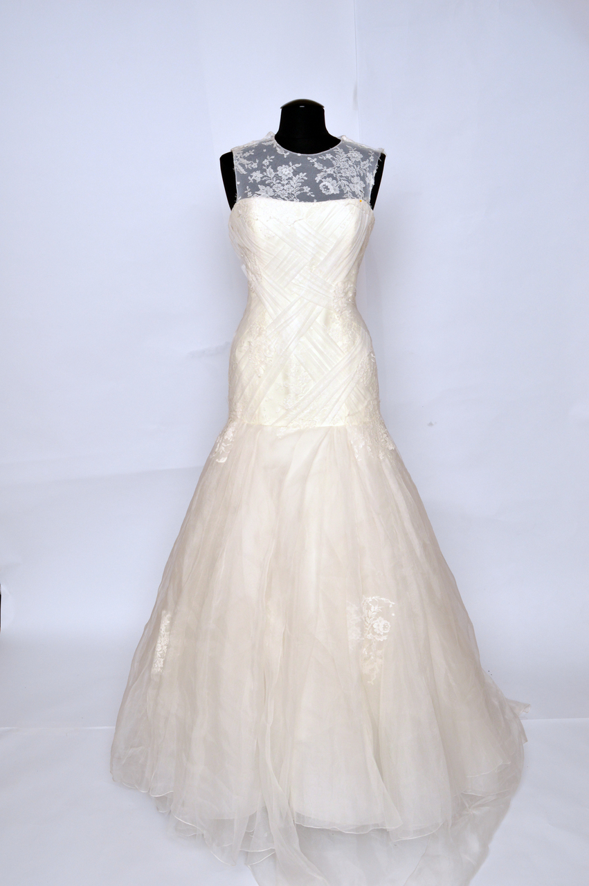 Shop Bridals by Lori Rivini Janette wedding gown for immediate delivery. Bridals by Lori wedding gown sale