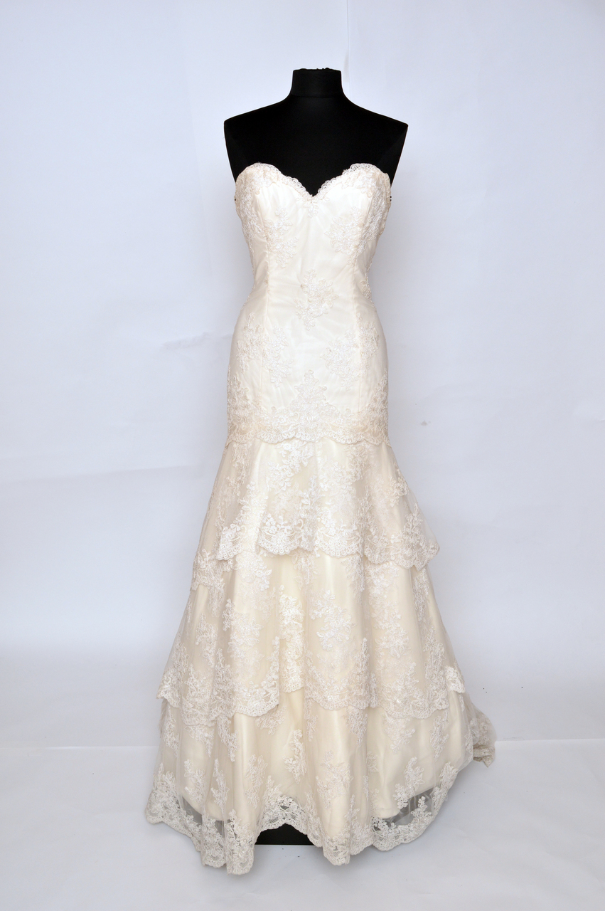 Shop Bridals by Lori Tara Keely 2206 wedding gown for immediate delivery. Bridals by Lori bridal sample sale gowns