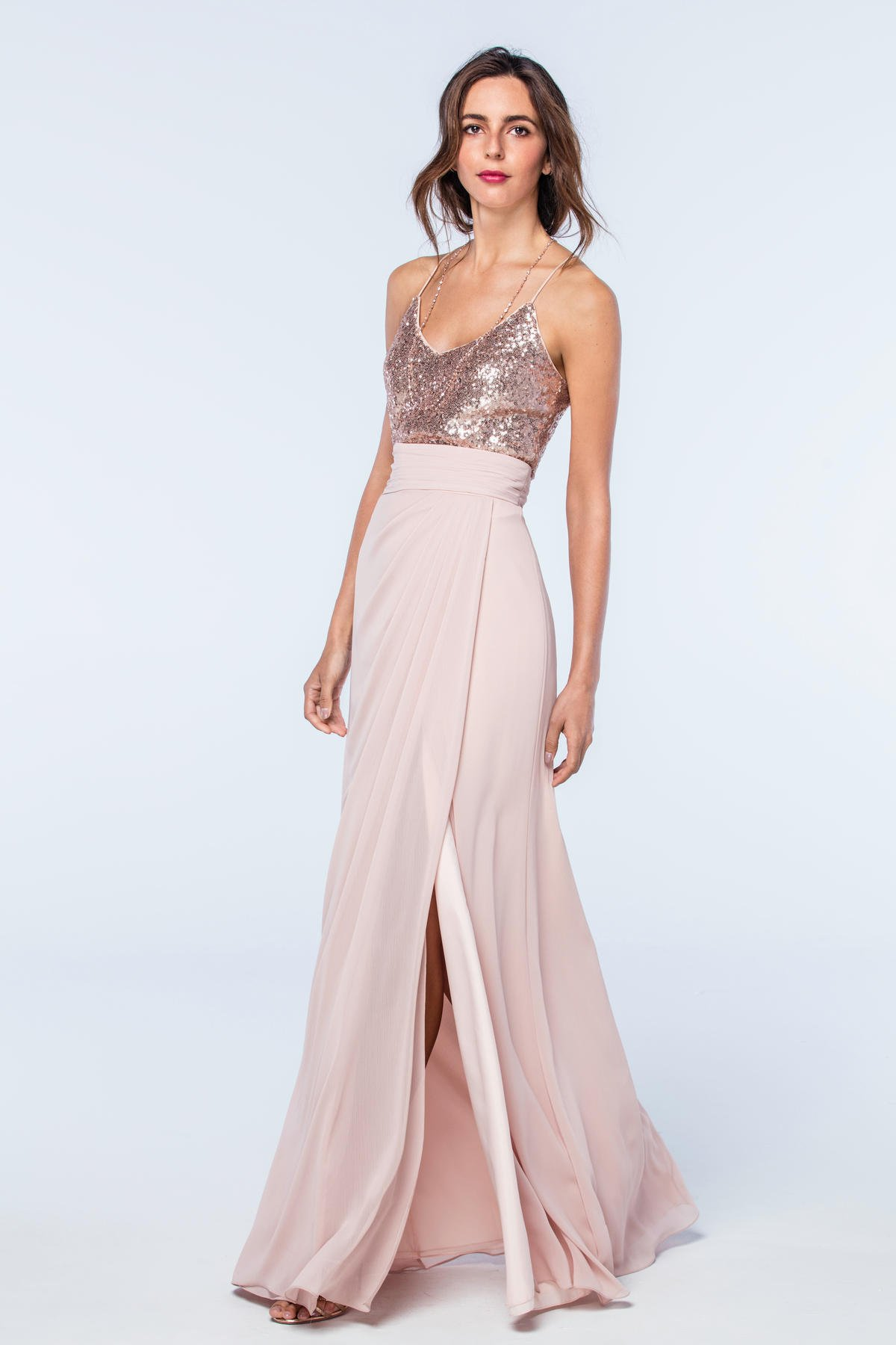 2508 Watters Bridesmaid Dress. Watters Maids at Bridals by Lori Atlanta. Watters bridesmaids gowns
