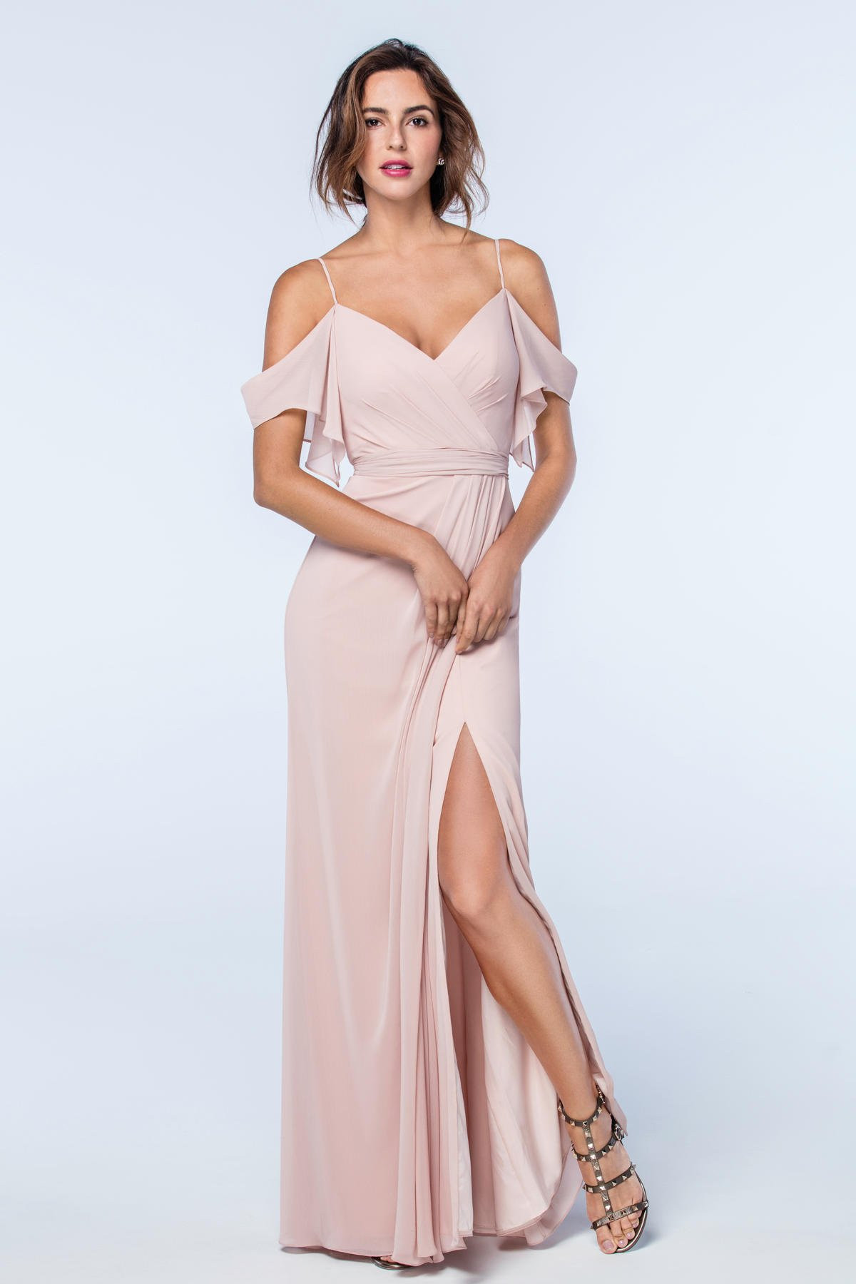 2511 Watters Bridesmaid Dress. Watters Maids at Bridals by Lori Atlanta. Watters bridesmaids gowns