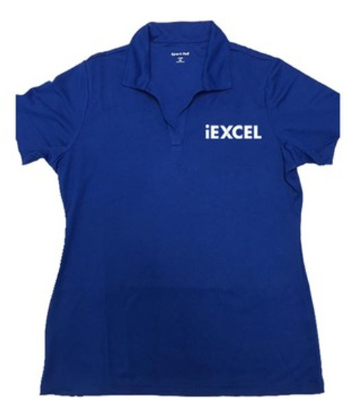 Women's Blue Sport Polo Shirt