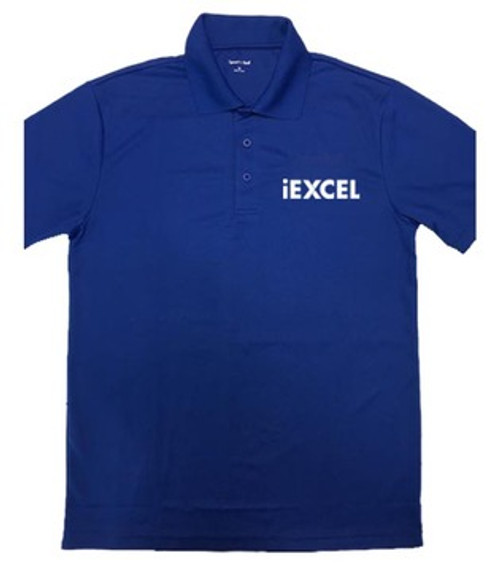 Men's Sport Polo Shirt (Blue)