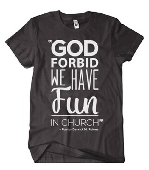 God Forbid Shirt (Black)