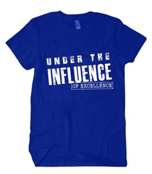 Under the Influence Shirt (Royal Blue)