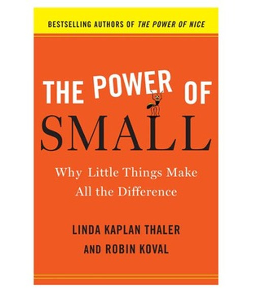 The Power of Small: Why Little Things Make All the Difference Hardcover