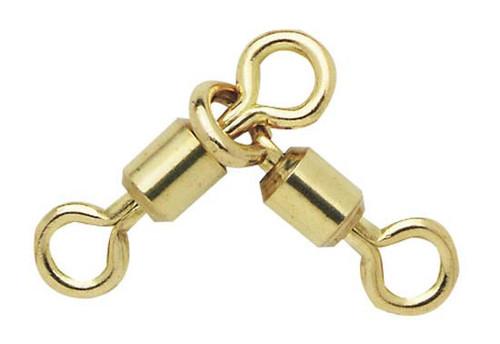 Brass 3-Way Swivel 5pk