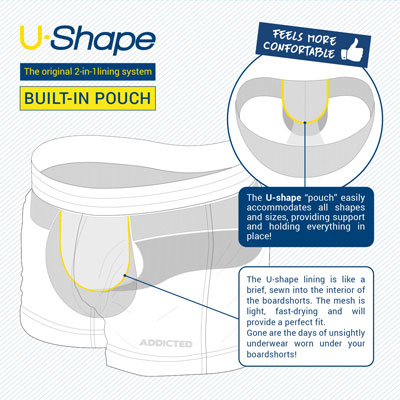 Addicted U-Shape Pouch @ Topdrawers
