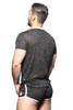 Andrew Christian Burnout Sergeant Tee 10318 - Mens T-Shirts - Rear View - Topdrawers Clothing for Men