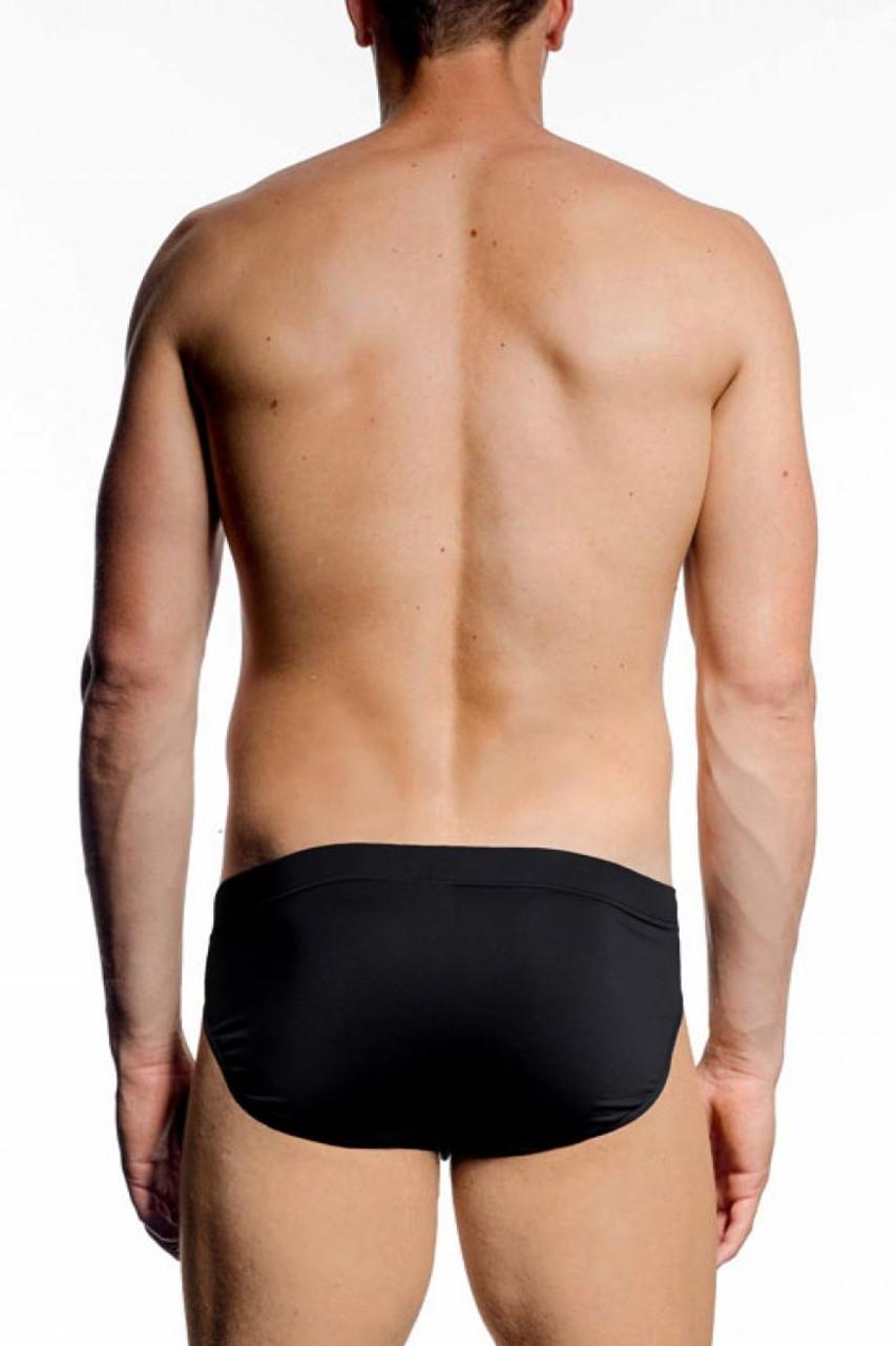9cd31cc7b8 ... JM SKINZ Bikini 88152 - Black - Mens Briefs - Rear View - Topdrawers  Underwear for ...