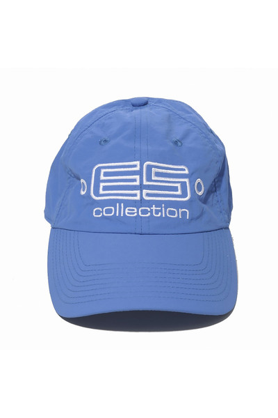 ES Collection Embroidered Baseball Cap CAP002-16 Royal Blue - Mens Caps - Front View - Topdrawers Clothing for Men