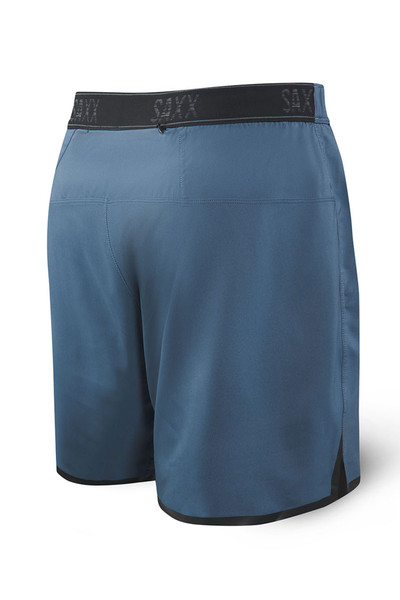 Saxx Pilot 2N1 Short SXRU29-DDN Dark Denim - Mens Boardshort Swim Shorts - Rear View - Topdrawers Swimwear for Men
