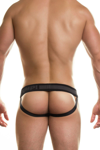 PUMP! Underwear Ninja Jockstrap Black 15016 from Topdrawers Menswear - Back View