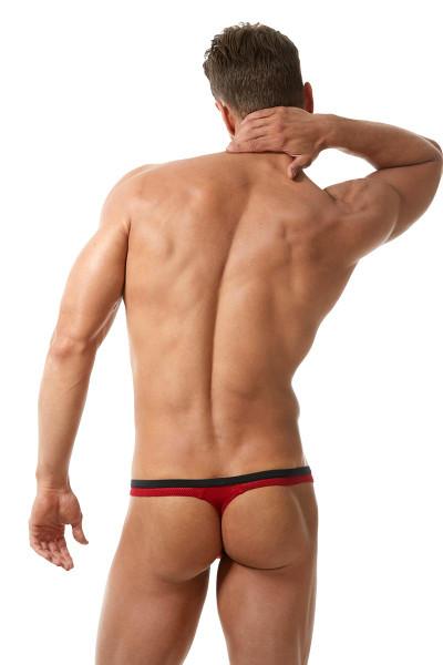7e9b866ab2e2 ... Red - Gregg Homme Vigor Thong 150504 - Rear View - Topdrawers Underwear  for Men