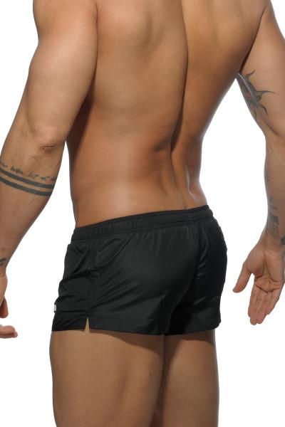 10 Black - Addicted Basic Mini Swim Short ADS111 - Rear View - Topdrawers Swimwear for Men