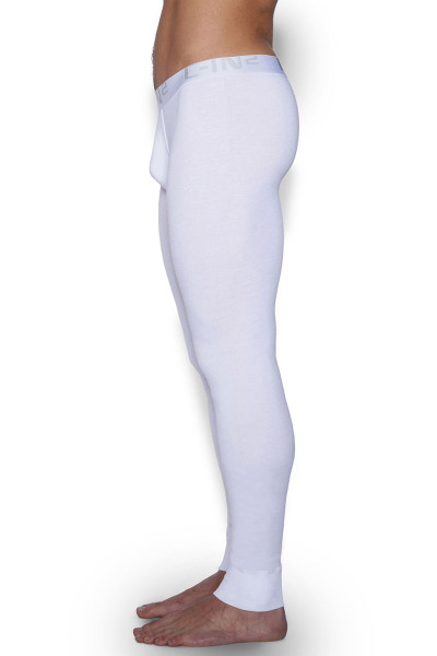 100 White - C-IN2 Core Long Underwear 4038 - Side View - Topdrawers Underwear for Men