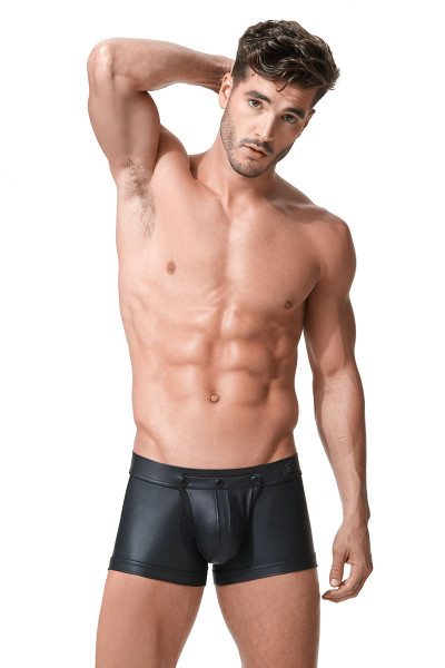 Gregg Homme Crave Boxer Detachable 152615 - Front View - Topdrawers Underwear for Men