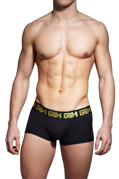 Garçon Model Miramar Trunk GM17-MIAMI-TR-BGOLD - Front  View - Topdrawers Underwear for Men