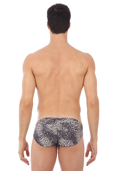 Grey - Gregg Homme Desire Brief 140403 - Rear View - Topdrawers Underwear for Men