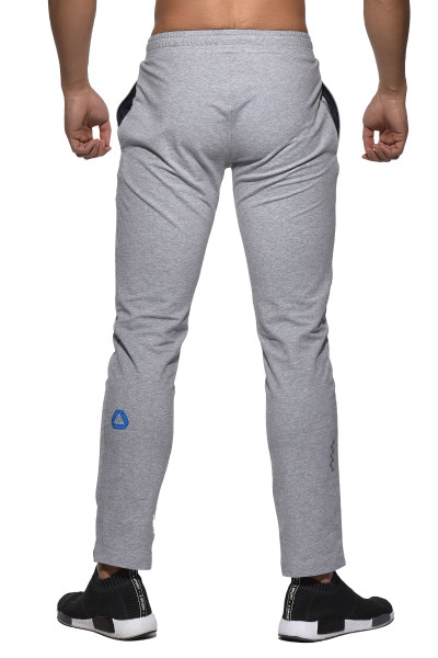 Melange - Private Structure BeFit Sweat Cotton Jersey Jogger BSCMB3437BT - Rear View - Topdrawers Menswear
