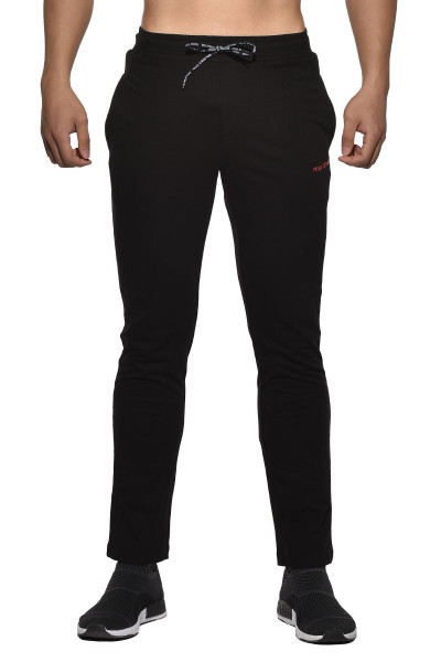 Black - Private Structure BeFit Sweat Cotton Jersey Jogger BSCMB3437BT - Front View - Topdrawers Menswear