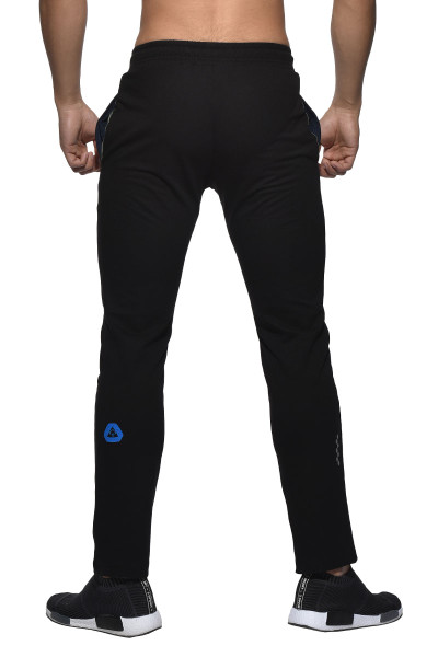Black - Private Structure BeFit Sweat Cotton Jersey Jogger BSCMB3437BT - Rear View - Topdrawers Menswear