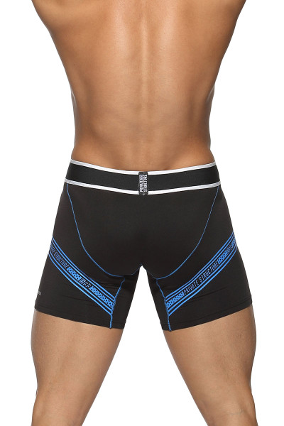 Black - Private Structure Momentum Innerwear Jammer MCMI3422BT - Rear View - Topdrawers Underwear for Men